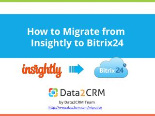 Migrate from Insightly to Birtix24 Directly