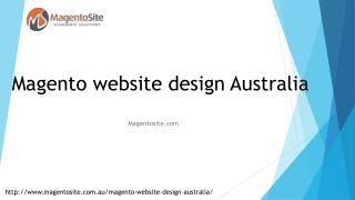 Magento Website Design Australia | Magento Site