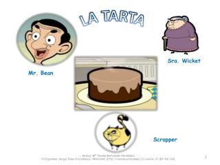 MR BEAN LA TARTA
