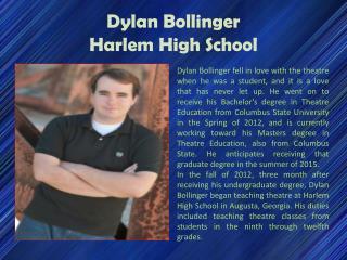 Dylan Bollinger-Harlem High School