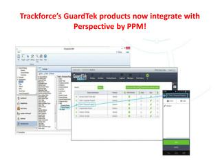 Trackforce's GuardTek products now integrate with Perspectiv