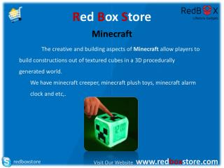 Minecraft Red Box Store