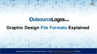 Graphic Design Formats Explained