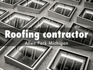 Roofing contractor Allen Park Michigan - Downriver Roofers