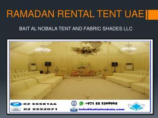 RAMADAN RENTAL TENT UAE