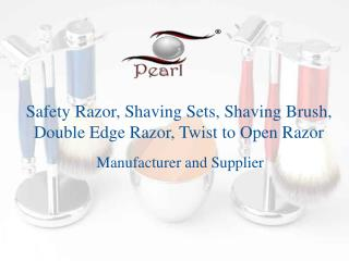 Get best Safety Razor, Shaving Sets, Shaving Brush only at P