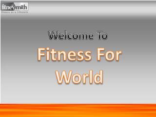 Personal trainer in Mumbai -fitnessforworld