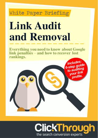 Link Audit and Removal