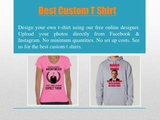 Design Your Own T Shirt