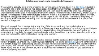 City Gate Singapore