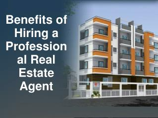 Benefits of Hiring a Professional Real Estate Agent