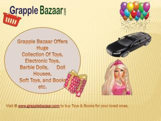 Buy Online Barbie Dolls,Electronic Toys and Books