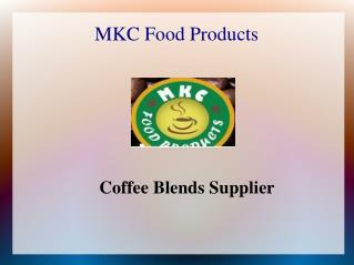 coffee blends supplier