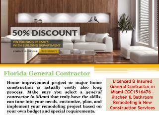 General Contractor Miami