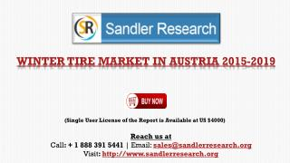 Winter Tire Industry 2019 Forecasts for Austria Markets