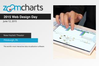 ZoomCharts for Web Design Day June 12 2015 in Pittsburgh