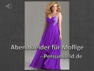 Neue Abendkleider für Mollige Online-PERSUN