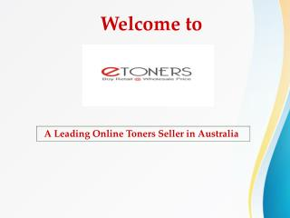Buy Best Quality  Ink Cartridges From eToners Australia