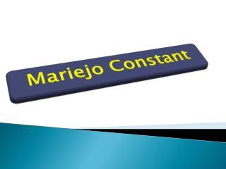 Mariejo Constant - Fashion Designer