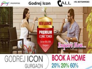 Godrej Icon in Sector 88A, Gurgaon | 8375099583