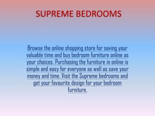 Fitted Bedrooms For Sale