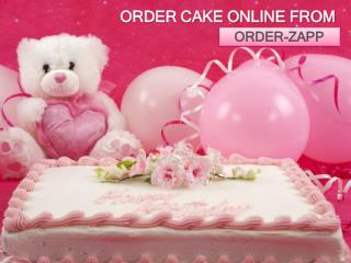 order cake online from Orderzapp
