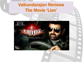 Vaikundarajan Reviews The Movie Lion