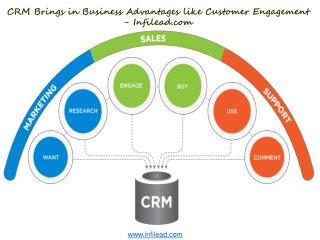 CRM Brings in Business Advantages like Customer Engagement