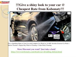 Car Detailing Dubai@ cheapest Rate