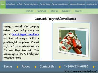 Lockout Tagout Compliance