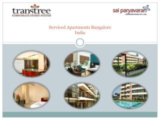 Serviced Apartments Bangalore India Transtree