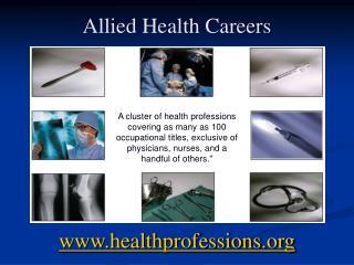 Allied Health Careers