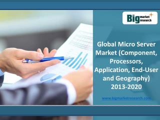 Key Deliverables of Global Micro Server Market 2013-2020