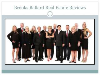 Brooks Ballard Real Estate Reviews
