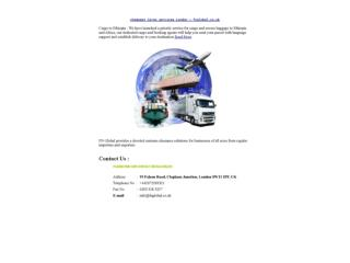 cheapest Cargo services London – fnglobal.co.uk