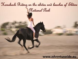 Horseback Riding on the whites and beaches of Slitere Nation