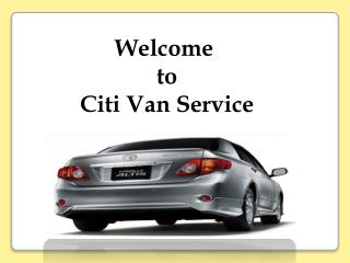 Get Car and Van Service in Cebu City