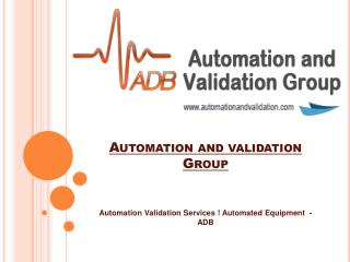 Equipment Validation