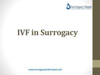 IVF in Surrogacy