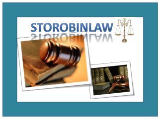 Storobinlaw.com/criminal-lawyer.php