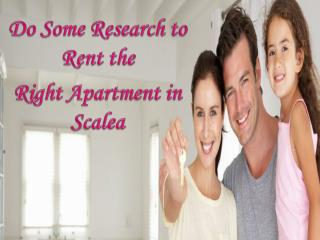 Do Some Research to Rent the Right Apartment in Scalea