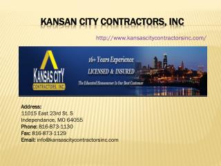 Roof Repair Kansas City