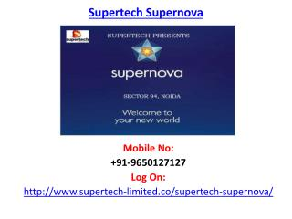 Supertech Supernova-Sector 94 Noida