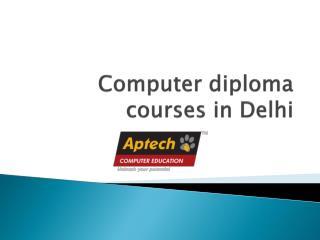 Computer Diploma Courses in Delhi