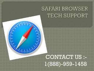 #1-888-959-1458#.#Safari #Browser stops suddenly