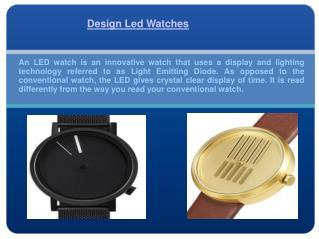 Digital Led Watch
