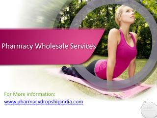 Pharmacy Wholesalers
