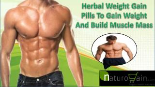 Herbal Weight Gain Pills To Gain Weight And Build Muscle Mas