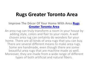 Rugs Greater Toronto Area