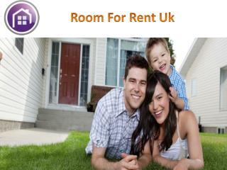 Room for rent uk